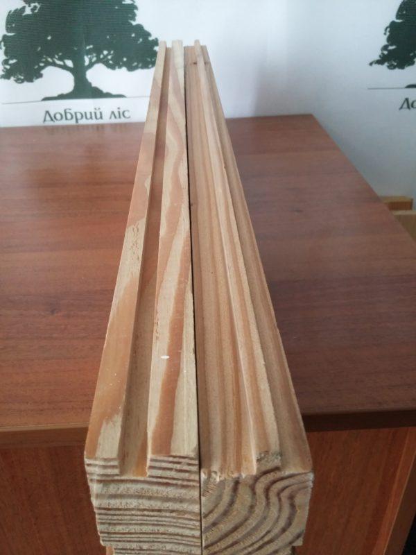 дошка для підлоги модрина